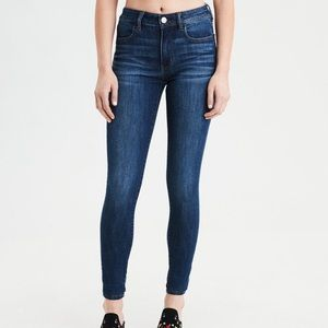 AEO Super Stretch Jeggings Jeans Size 6